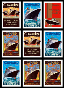 Cunard Posters