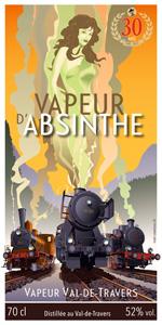 Etiquette absinthe VVT