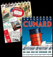 Cunard Queen Mary 2 Queen Victoria Queen Elizabeth notebook