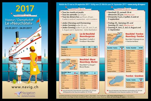 LNM horaire vapeur 2017