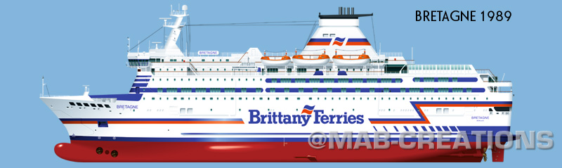 bretagne brittany ferries dessin profil illustration profile drawing marc-antoine bombail