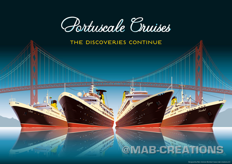 portuscale cruises poster